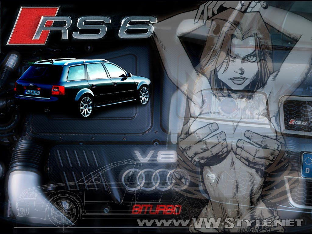 2013款奥迪rs6高清桌面壁纸; vw audi seat tuning wallpaper;