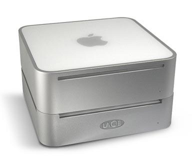 罕见苹果MAC迷你! 底座竟有250GB外置硬盘