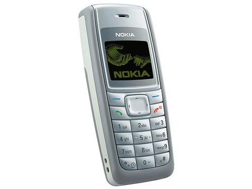 图为:诺基亚1110手机图片