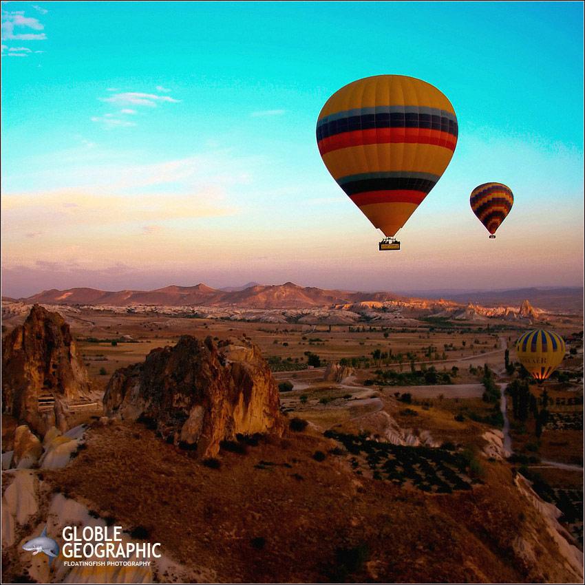 乘上热气球漫步外星球 土耳其卡帕多西亚 组图