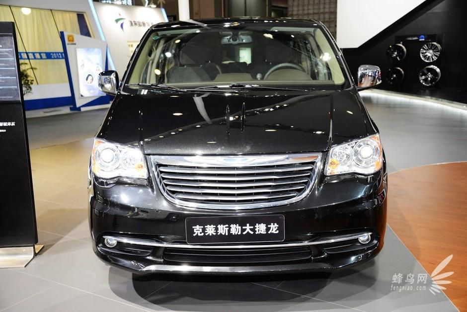 克莱斯勒大捷龙 2012广州车展 克莱斯勒大捷龙台前展示套...