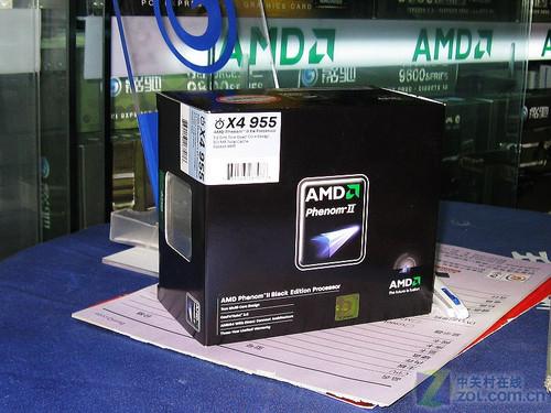 高端四核不到千元 AMD羿龙X4 955仅970