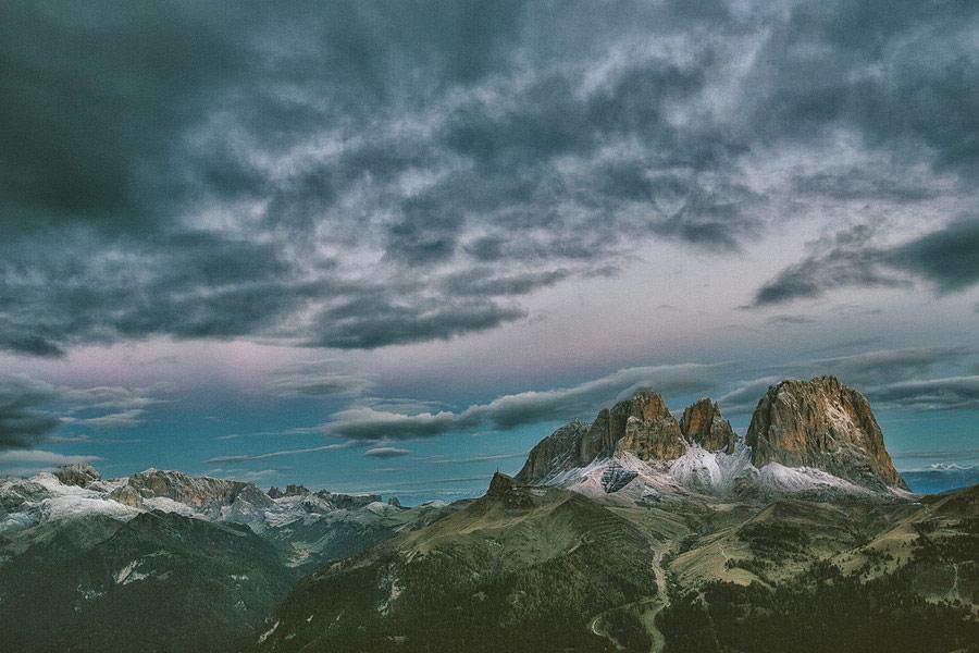 意大利多洛米蒂山的冷酷仙境 - 牧笛 - ★★★牧笛唯美视界