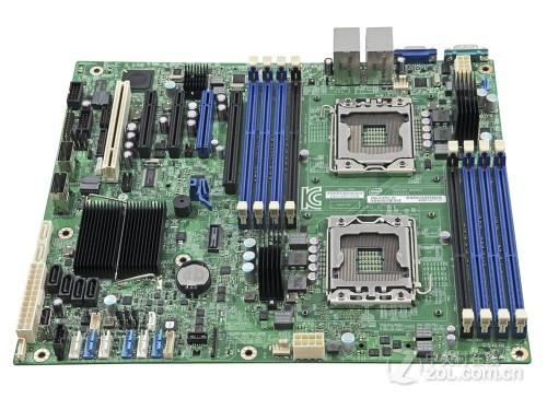 高稳定服务器主板 英特尔S2400SC2促销