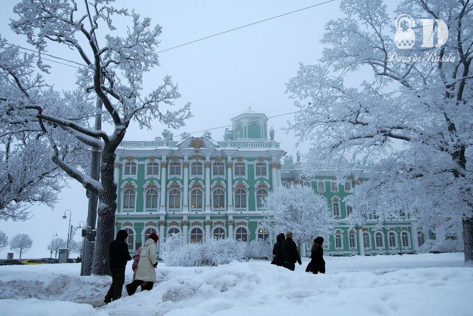 俄罗斯的冬天