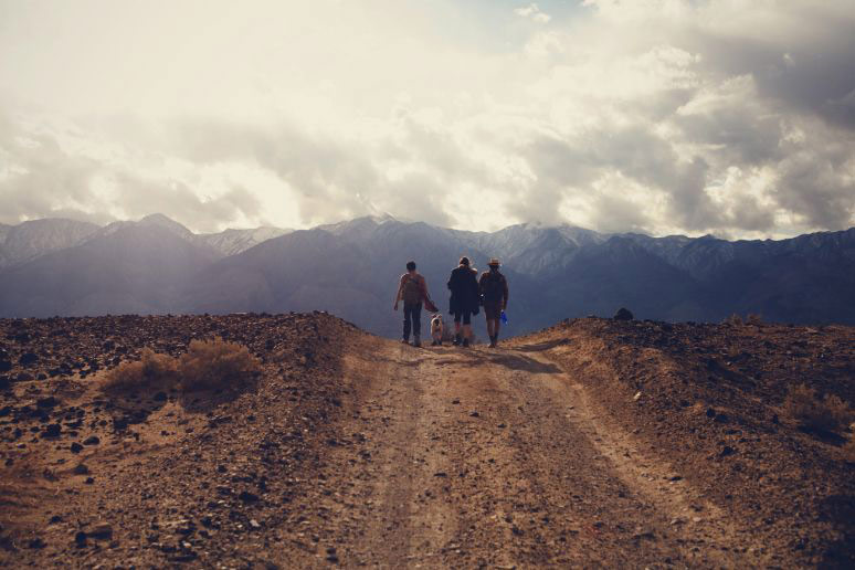 不羁的旅途 美国女摄影师加州死谷游记 组图