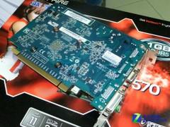 1GB DDR5高速显存 蓝宝HD6570仅售559元
