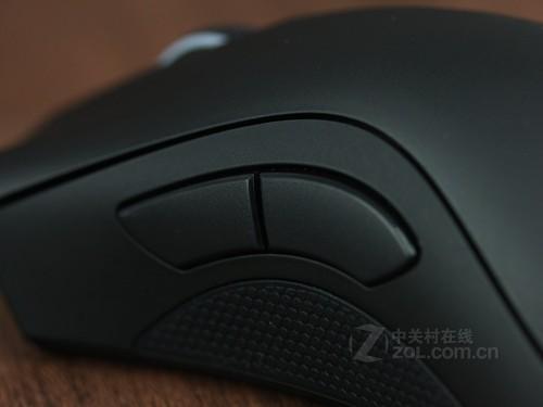 雷蛇炼狱蝰蛇2013版游戏鼠标左右按键和侧键,依旧保持着炼狱蝰蛇游戏