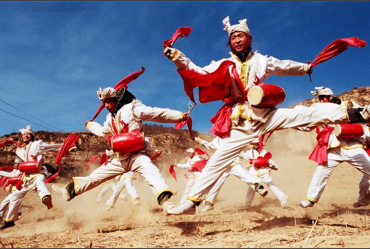 陕北秧歌-安塞腰鼓 摄影师 斐来飞去