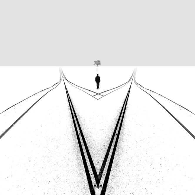 如梦如幻的黑白世界:极简主义摄影作品套图-第13张