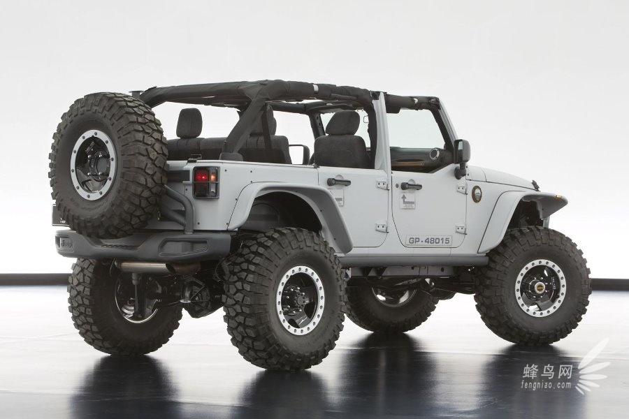 jeep 牧马人 大切诺基 六款 概念 车发布 组图高清图片