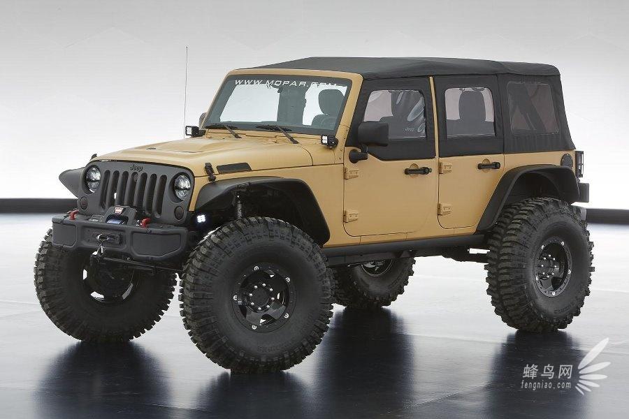 jeep挅ce�^h�^K�p_jeep 牧马人/大切诺基 六款概念车发布 组图
