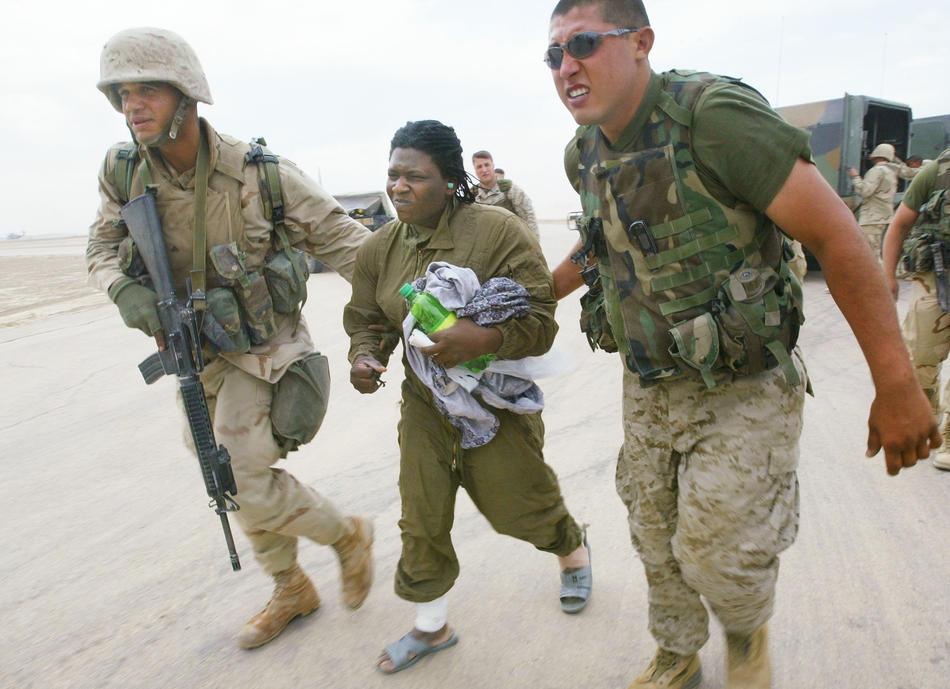2003年4月13日 美军女战俘