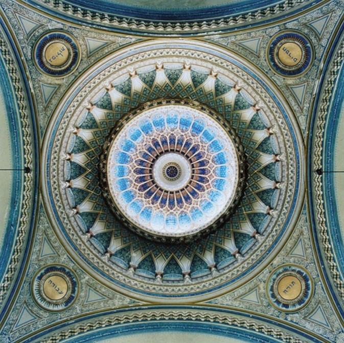 捕捉欧式穹顶的奢华:镜头下的建筑之美 组图