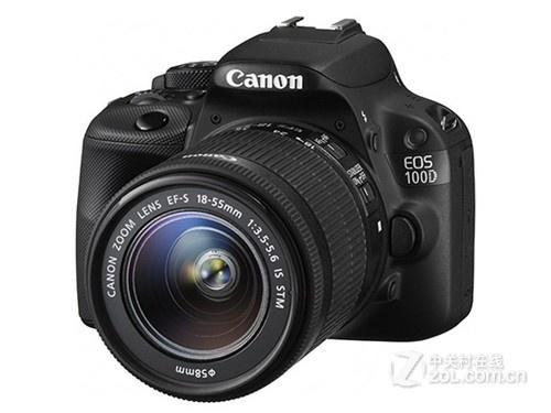 小型单反相机 佳能100D套机西安4600元