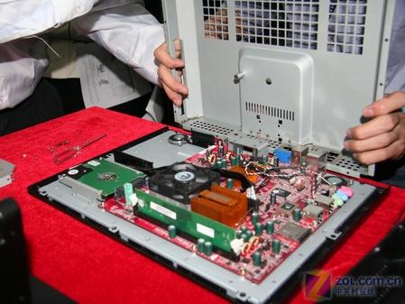 唐朝电脑完全拆解 内部结构深入剖析