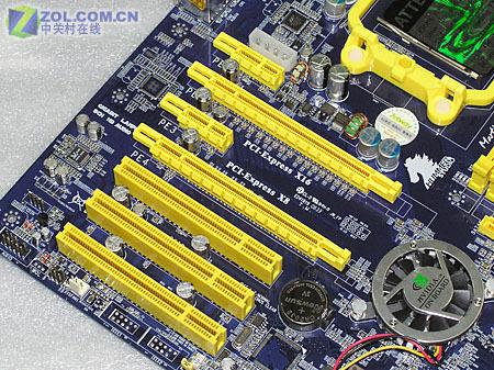 捷波悍马HA01-GT扩展插槽