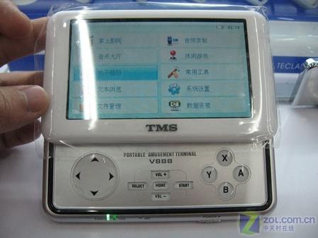TMS最强闪存MP4到货 2GB售价1299元