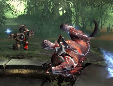 《战神2:圣剑神罚》最新游戏画面公开