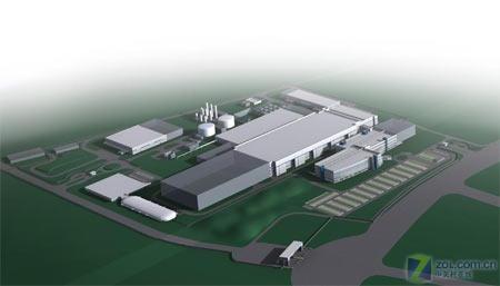 英特尔投资25亿美元建厂 规划图公布