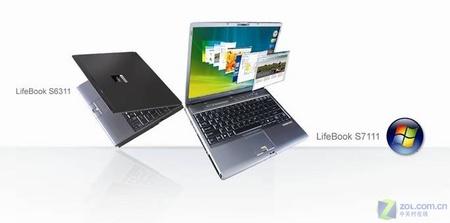 预装Vista 富士通LifeBook