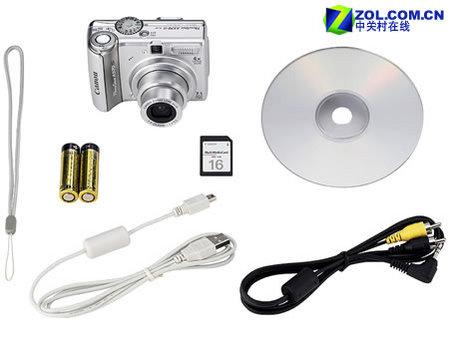 入门级防抖相机新选 佳能A570 IS发布