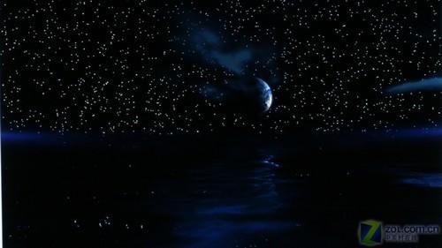 黑色星空图片手绘彩铅