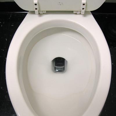 手机掉厕所马桶图片