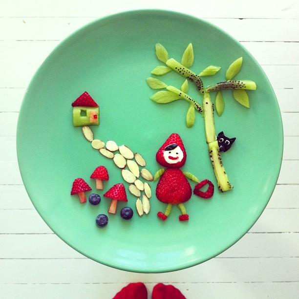 instagram的视觉盛宴 可爱的早餐拼盘 组图