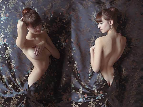 美女摄影师的惊艳人体艺术