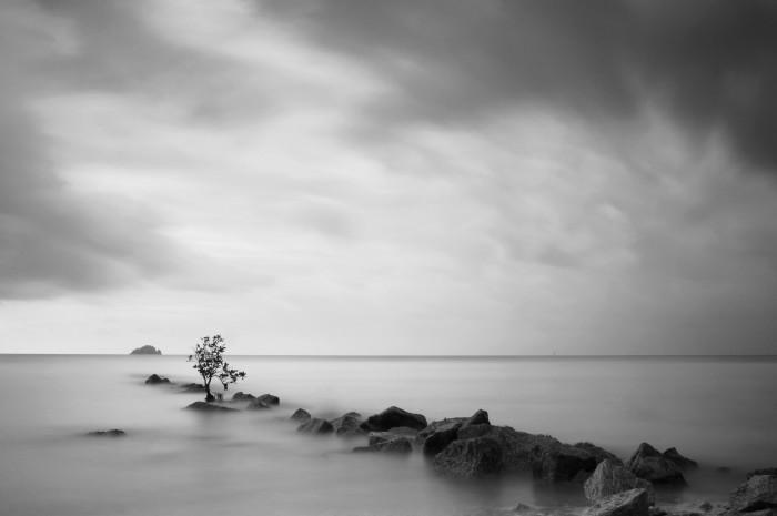 黑白的力量 史诗般的单色风光摄影作品 组图