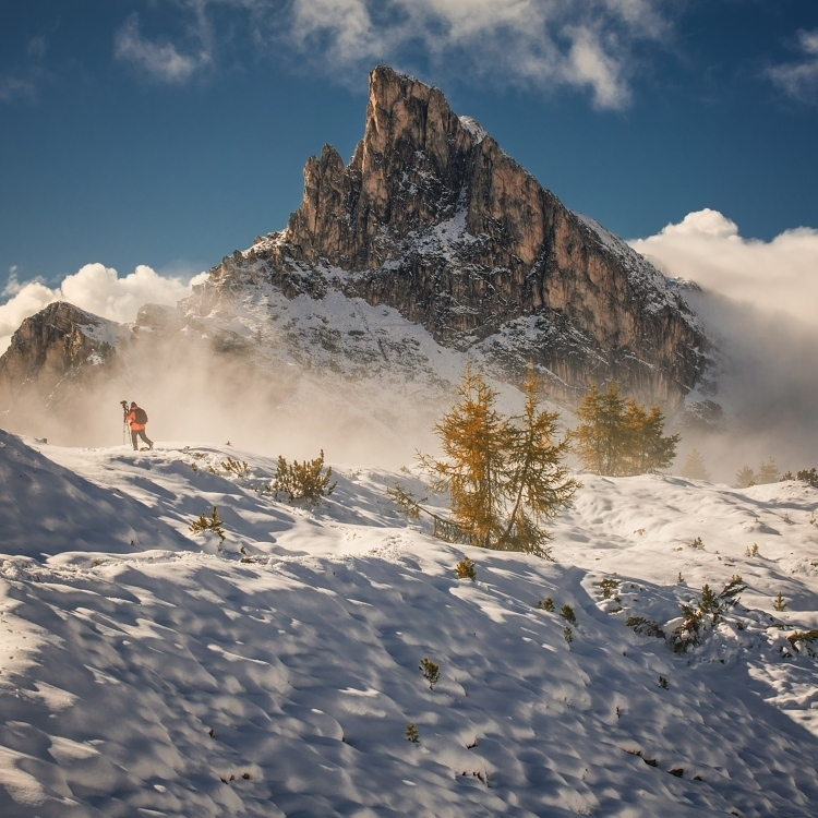 阿尔卑斯山脉是欧洲杂志封面大片中出现最频繁的风景地,吸引着全球