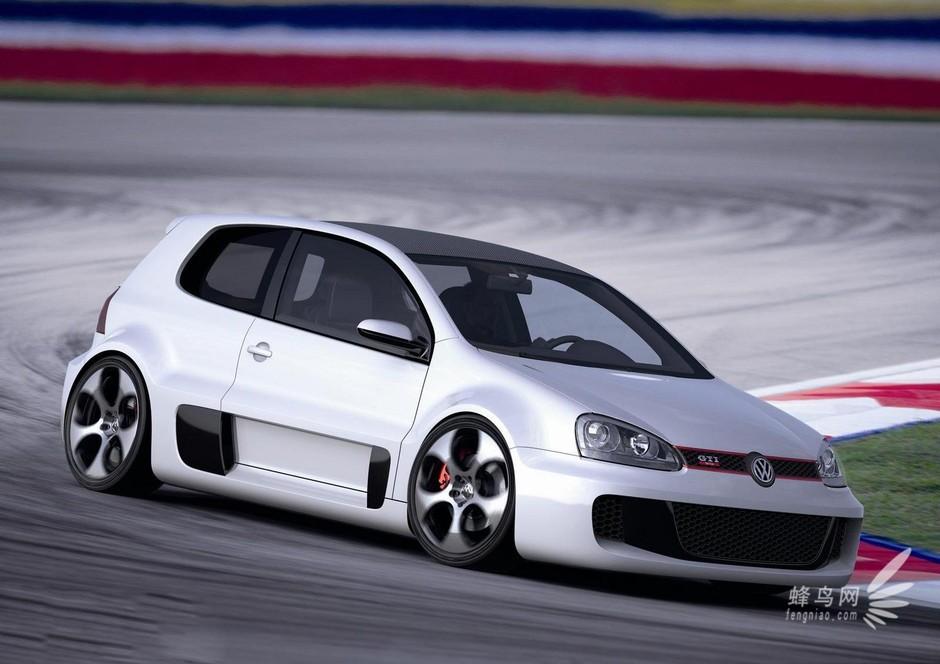 一年一度的奥地利Worthersee改装车展即将于本月拉开帷幕,大众汽车研发负责人Ulrich Hackenberg表示,大众品牌将在本届车展上推出一款高性能第七代高尔夫GTI概念车。 为了庆祝高尔夫车型诞生40周年,大众推出的这台更轻量、动力更为强劲的第七代高尔夫GTI概念车在造型设计上仍会延续现有车型及经典传统,并不会显得过分激进。 不过平静的外表下的它就暗藏着惊人的动力,预计新车将会搭载来自宾利上的6.