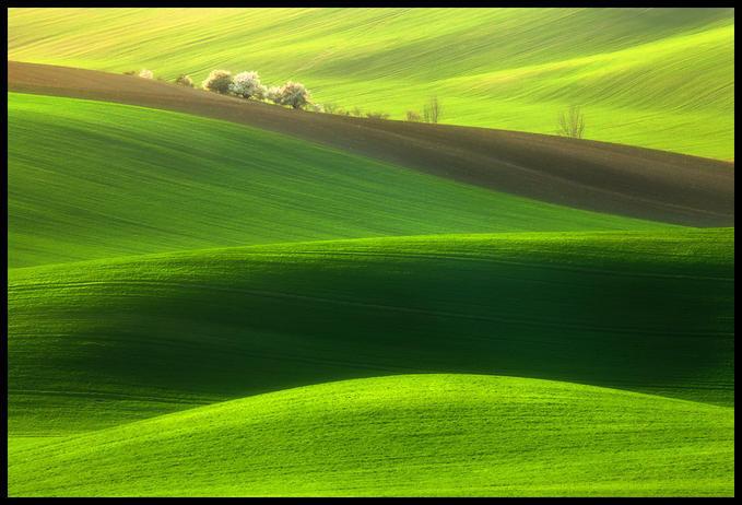 解读自然魅力 幻若仙境般的乡间田野风光 组图