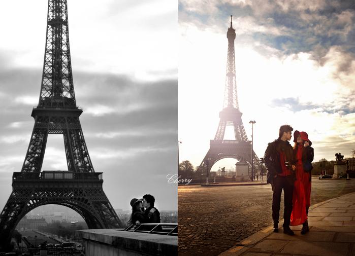 埃菲尔铁塔-巴黎拥吻到尼斯
