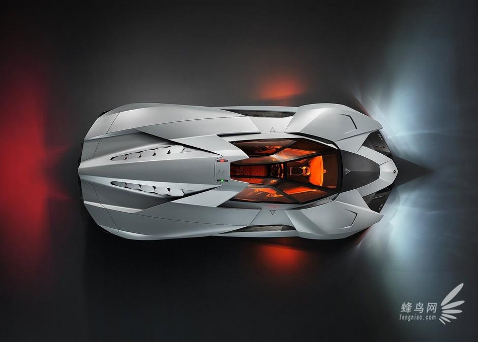 兰博基尼推出egoista概念车庆贺50大寿 高清图片