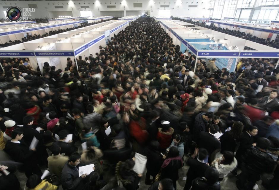 北京,求职会上人头攒动- 深瞳渊源,品味经典!
