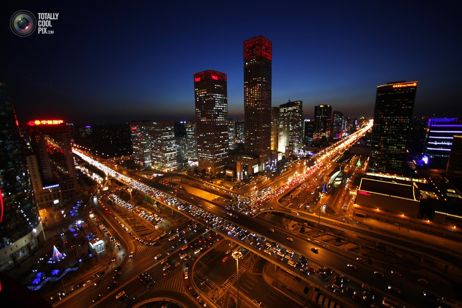北京,立交桥夜景- 深瞳渊源,品味经典!