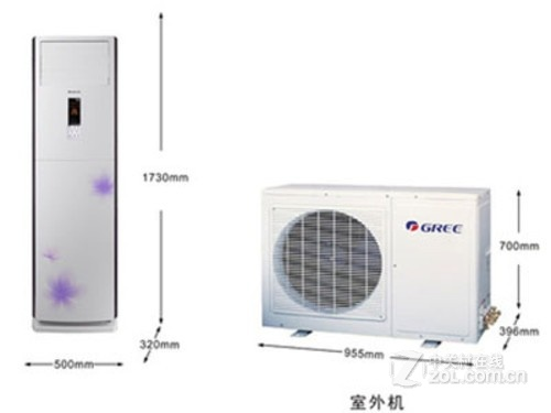 3p空调制热功率_3P定频空调 格力KFR-72LW报价6180元-格力 KFR-72LW/(72569)Ba-3_西安空调 ...
