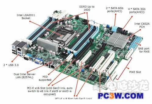 华硕m4a77tsi电脑主板机相连接线图_电脑里的开关机线和复位线及硬盘灯线不知道怎