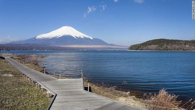 富士山日本 cnn报道