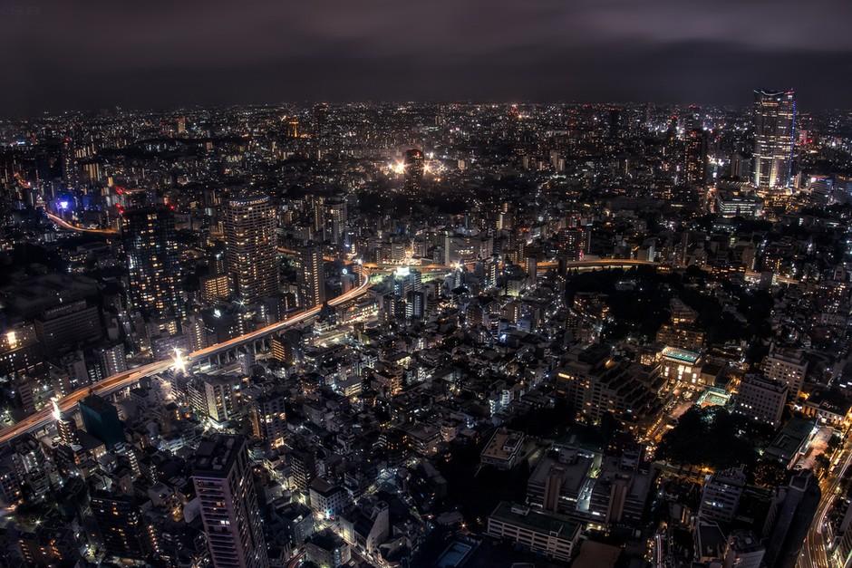 繁华的城市之光 不夜城东京的曼妙夜景套图-第3张