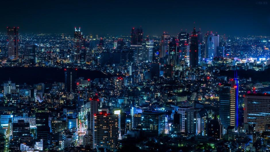 繁华的城市之光 不夜城东京的曼妙夜景套图-第17张