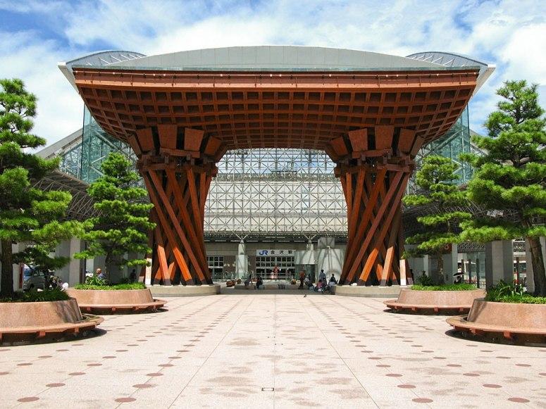 金泽站+日本-旅行的起点与终点