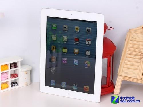 苹果 iPad4白色 外观图