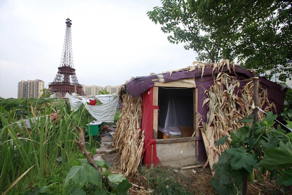 东方巴黎铁塔图片
