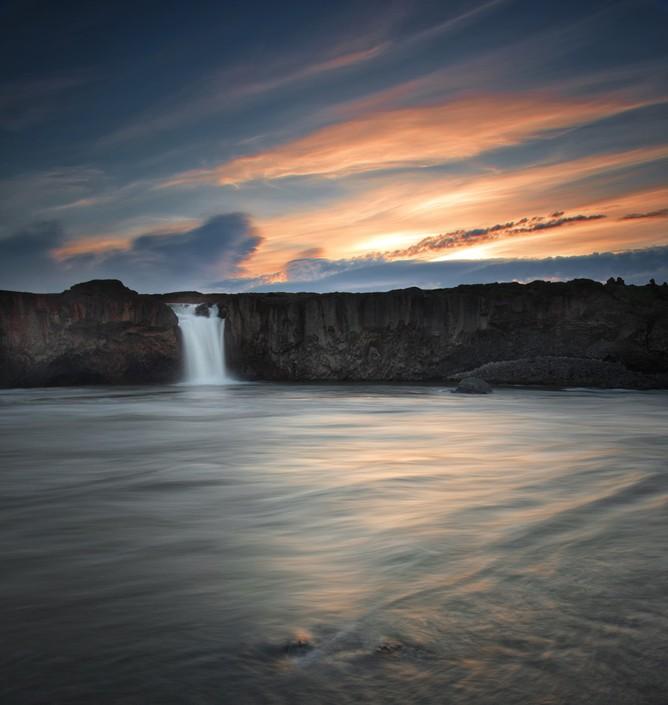 冰岛神之瀑布 零下10度的急冻摄影之旅 组图