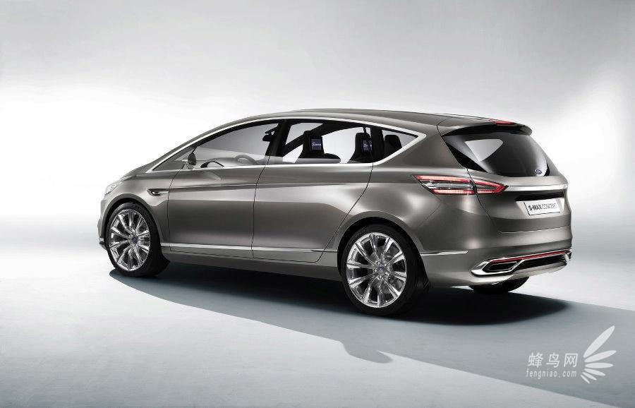全新福特 s max概念车 延续家族大嘴外观 全新福特 s max高清图片