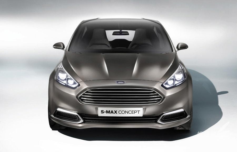 福特s-max概念车_延续家族大嘴外观 全新福特 s-max概念车 组图