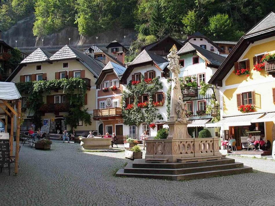浪漫村庄 欧洲风景如画的自然小镇 组图